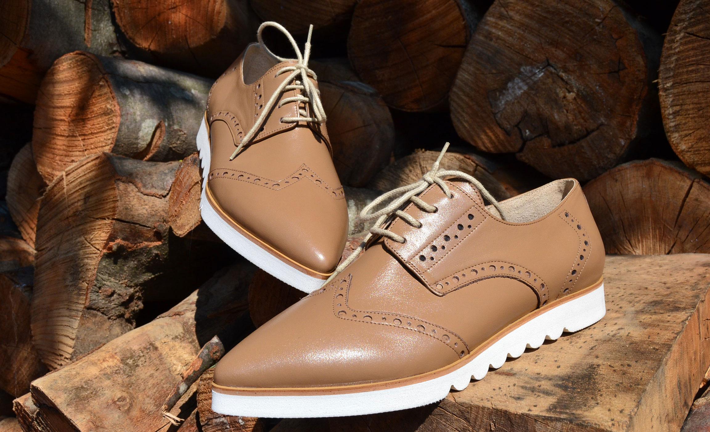 pantofi oxford platforma