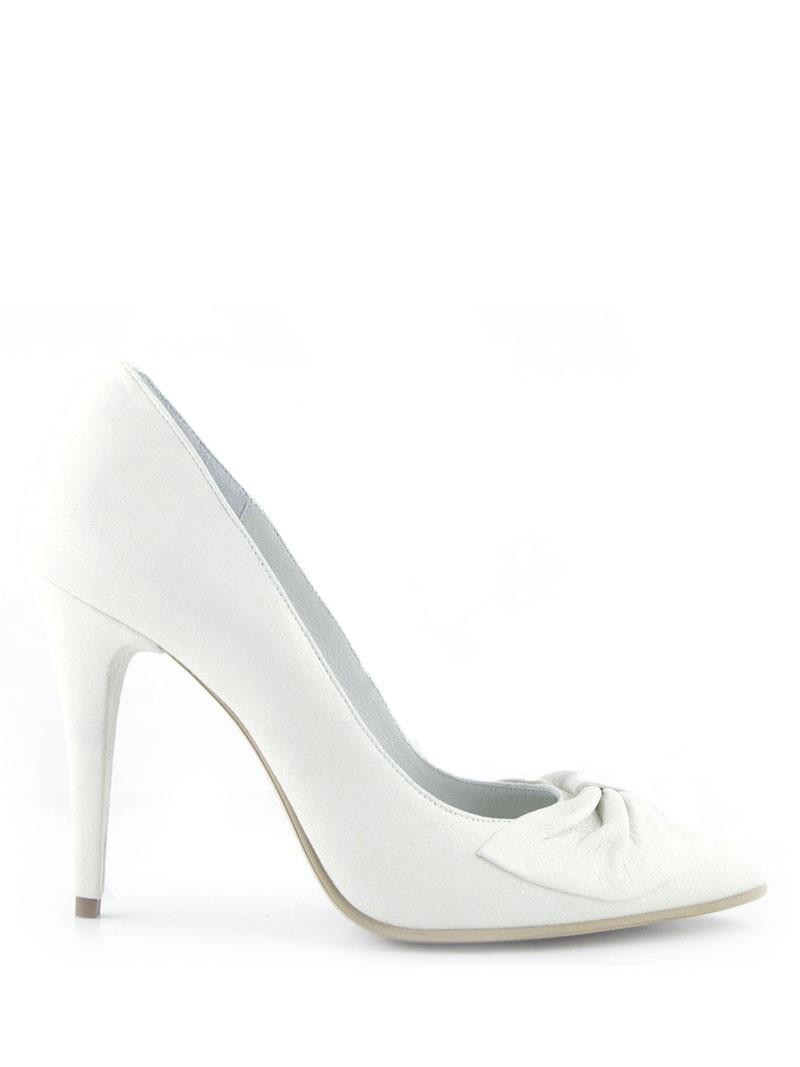 Pantofi Mireasa Albi Cu Funda