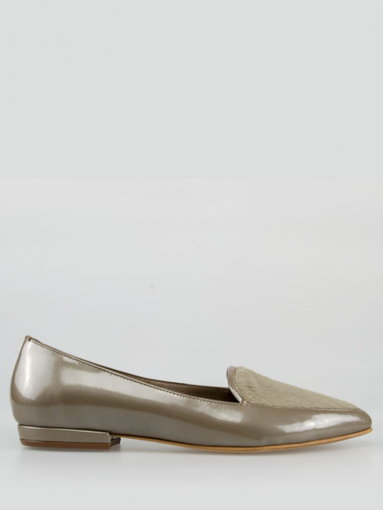 mocasini de dama cappucino