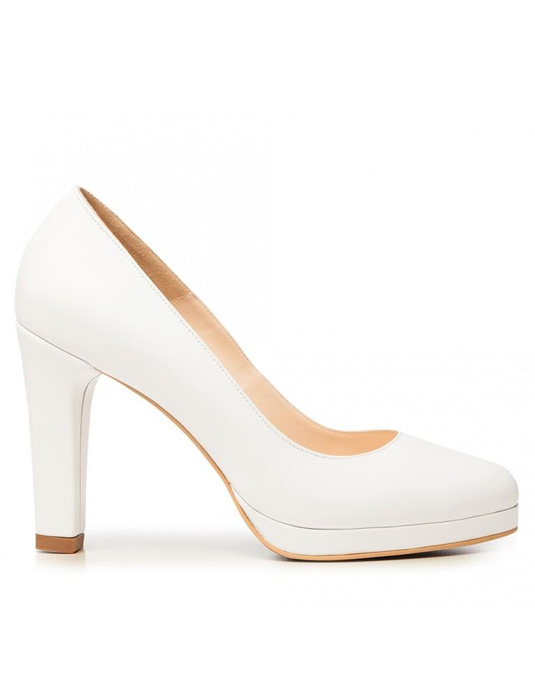 pantofi abi de mireasa cu platforma
