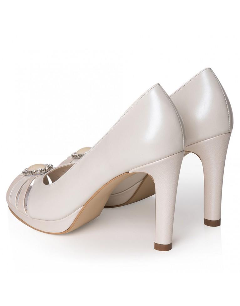 Pantofi mireasa ivory Agnès