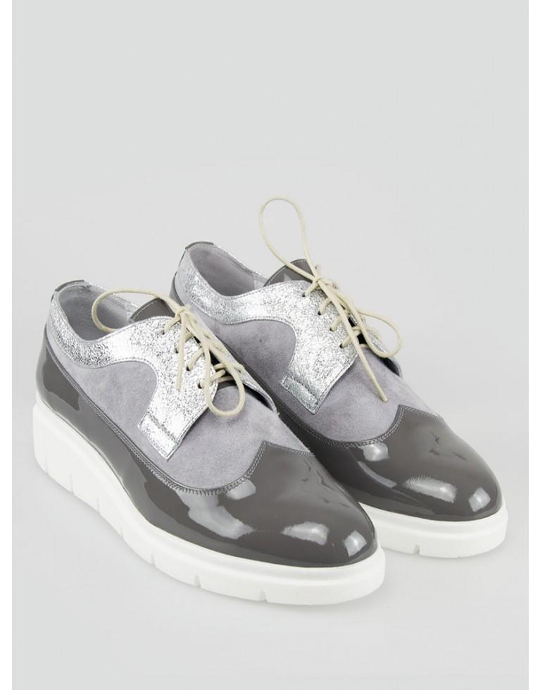 pantofi-oxford-dama-cu-varf-rotund-gri-kaia