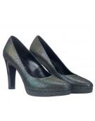 pantofi cu platforma piele reflexii