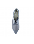 Pantofi oxford cu talpa joasa gri