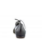 Pantofi oxford cu talpa joasa maro