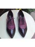 pantofi oxford cu talpa groasa