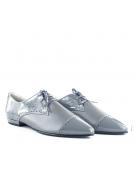 Pantofi cu talpa joasa gri