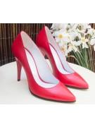 pantofi stiletto rosii prezentare