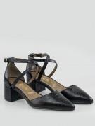 sandale dama cu toc mic patrat de 5cm zola